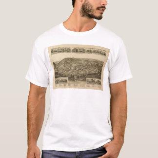 Camiseta Vista aérea de Harriman, Tennessee (1892)