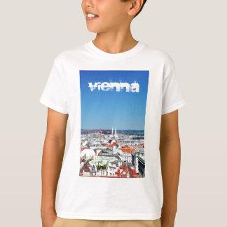 Camiseta Vista aérea de Viena, Áustria