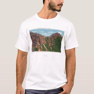 Camiseta Vista da cimeira de Whiteface Mt