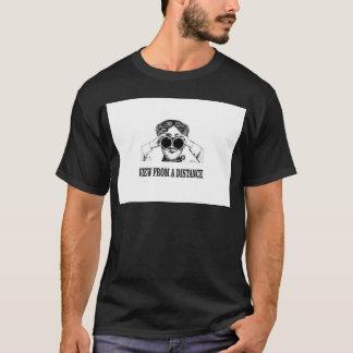 Camiseta vista de uma distância