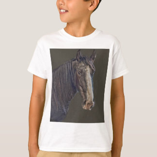 Camiseta vista do cavalo