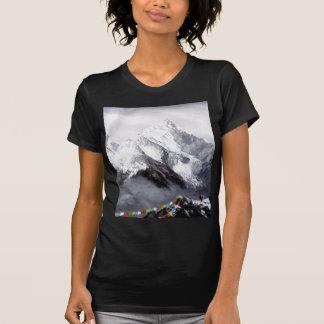Camiseta Vista panorâmica da montanha de Everest