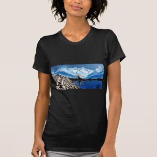Camiseta Vista panorâmica da montanha Nepal de Annapurna