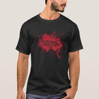 Camiseta Vítima do Paintball