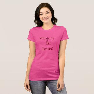 Camiseta Vitória no t-shirt de Jesus