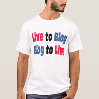 Camiseta Viva ao t-shirt do blogue