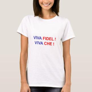 Camiseta Viva Fidel! Viva Che!