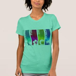Camiseta Viva para a praia