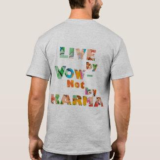 Camiseta Viva pelo voto: luz - cinza