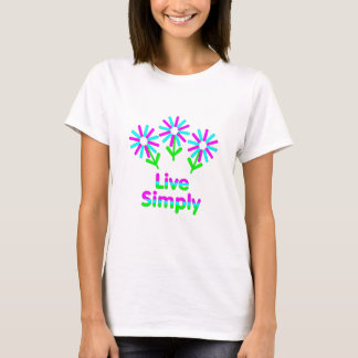 Camiseta Viva simplesmente