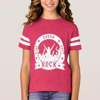 Camiseta Vive a ROCHA do amor do riso (branca)