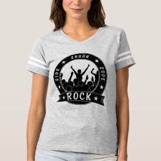 Camiseta Vive a ROCHA do amor do riso (o preto)