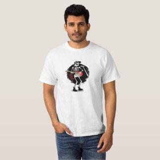 Camiseta Vive por muito tempo o t-shirt do esqueleto do