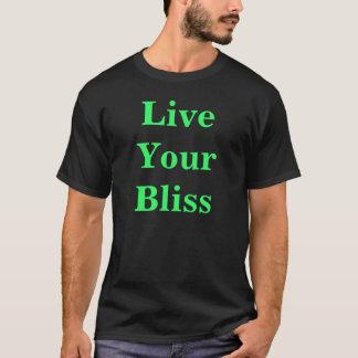 Camiseta Vive sua felicidade