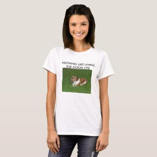 Camiseta Vivendo o t-shirt da boa vida