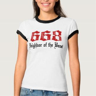 Camiseta Vizinho 668 do animal