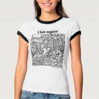 "Camiseta Vlad ""eu deio vegetarianos!"" tshirt"