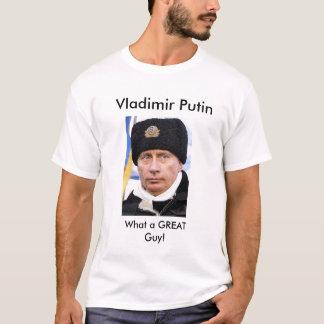 Camiseta Vladimir Putin que grande Tshirt da cara