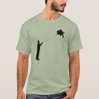Camiseta Voando um papagaio do planador do açúcar