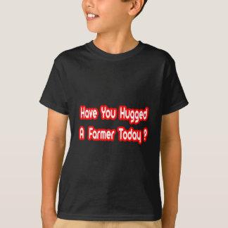 Camiseta Você abraçou um fazendeiro hoje?