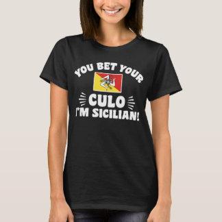 Camiseta Você aposta seu Culo que eu sou siciliano