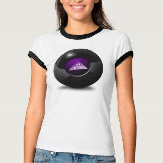 Camiseta Você bola da mágica 8 de Betcha - de Sarah Palins