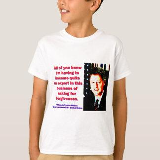 Camiseta Você conhece - Bill Clinton