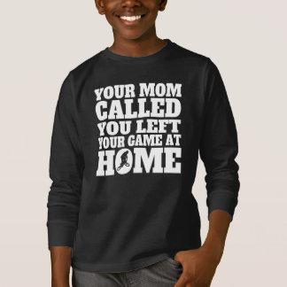 Camiseta Você deixou seu jogo em casa BMX