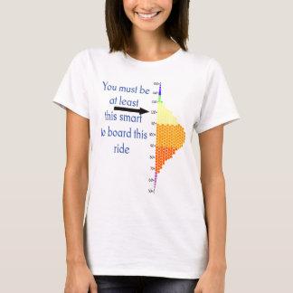 Camiseta Você deve ser pelo menos este Smart