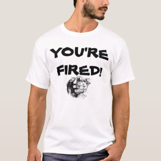 Camiseta Você é ateado fogo