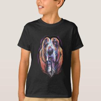 Camiseta Você é meu coração de Basset Hound