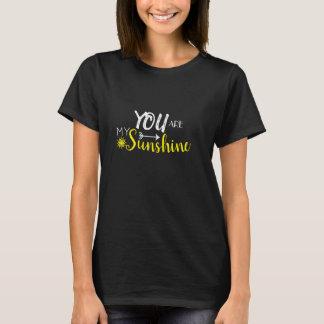 Camiseta Você é meu T da luz do sol