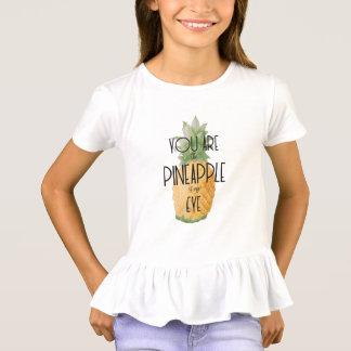 """Camiseta """"Você é o abacaxi de meu olho """""""