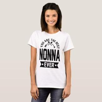 Camiseta você é o melhor nonna nunca