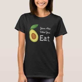 Camiseta Você é o que você come o t-shirt do abacate