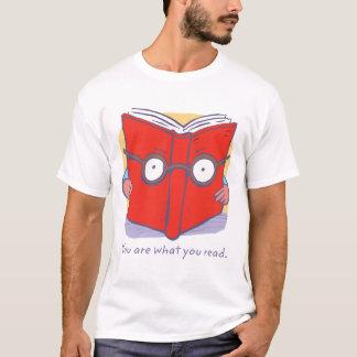 Camiseta Você é o que você lê