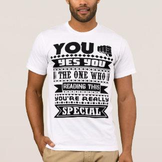 Camiseta Você é realmente especial (as citações