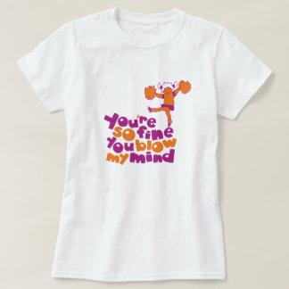 Camiseta Você é tão fino você funde meu gráfico retro da
