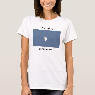 Camiseta Você envia-me à lua