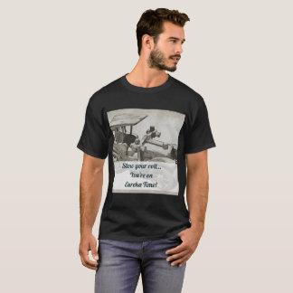 Camiseta Você está no tempo de Eureka