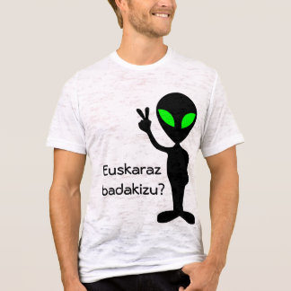 Camiseta Você fala o Basque?