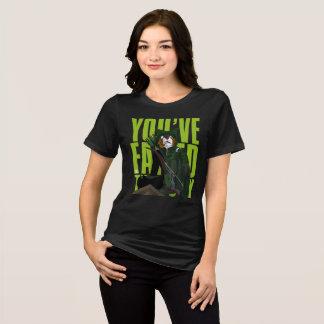 Camiseta Você falhou esta cidade (as mulheres)