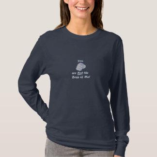 Camiseta Você não é o chefe de mim Tshirt