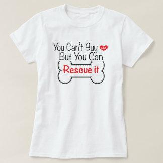 Camiseta Você não pode comprar o amor mas você pode