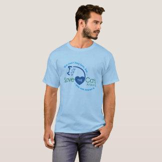 """Camiseta """"Você não pode comprar o T básico dos homens do"""