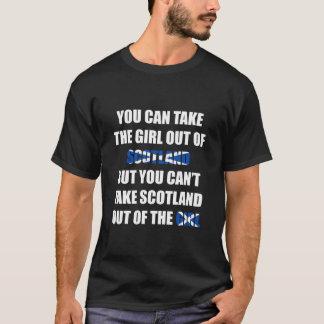 Camiseta Você não pode tomar Scotland fora da menina