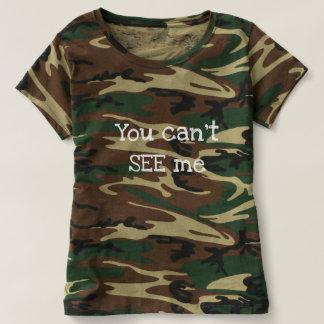 Camiseta Você não pode VER-ME