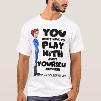 Camiseta Você não tem que jogar… (Cores claras)