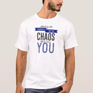 Camiseta Você no caos