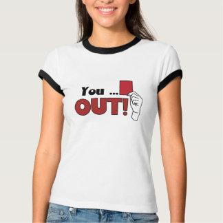 Camiseta Você. piada de .out